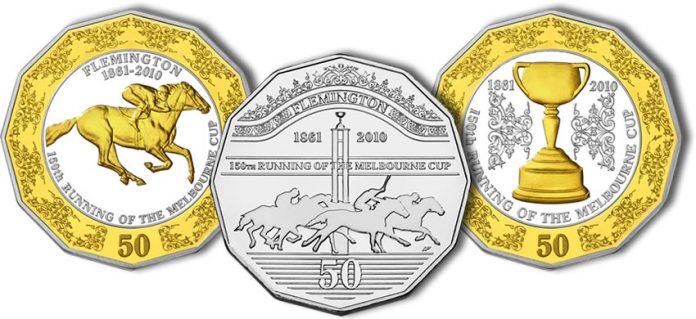 Melbourne Cup Coins
