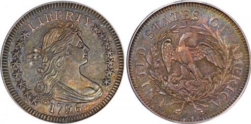 1796 B-2 Quarter Dollar