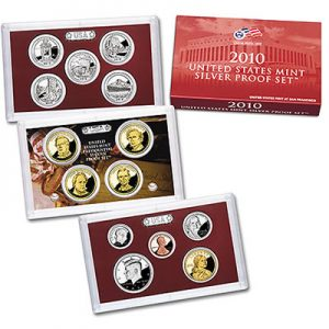 United States Mint 2010 Silver Proof Set