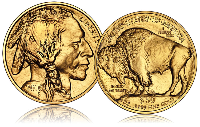 2010 Bullion Buffalo Gold Coins Sell Out, US Mint Announces
