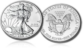 2010 American Silver Eagles