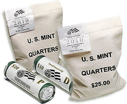 2010 Grand Canyon National Park Quarter Bags and Rolls