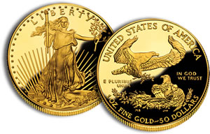 2010 Proof American Gold Eagle Coin