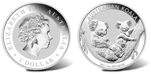 2011 Australian Silver Koala Coins Availability Coin News