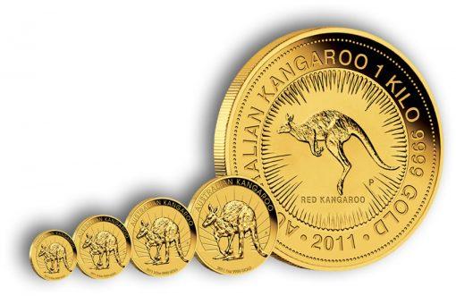 2011 Kangaroo Gold Coins