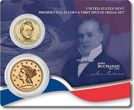 Buchanan's Liberty Medal Set