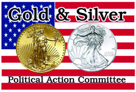 Gold Silver PAC logo