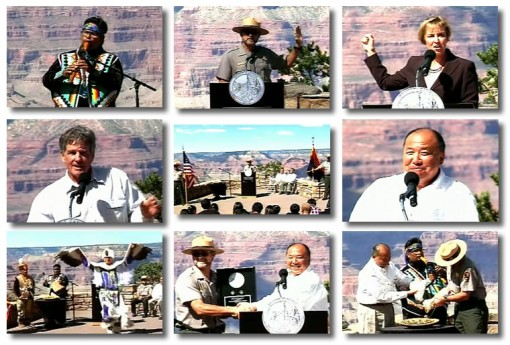 Grand Canyon National Park Quarter Ceremony Photos