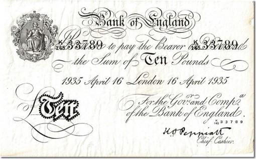 Op  Bernhard April 16 1935 10 pounds
