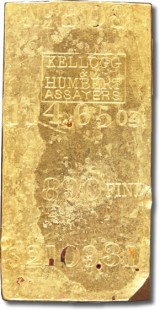 S.S. Central America Gold Ingot