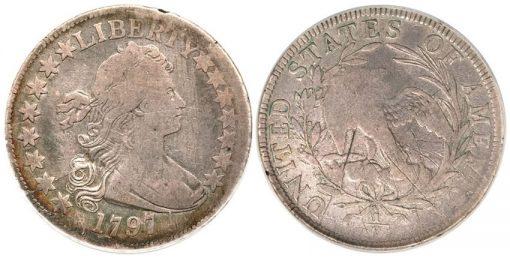 1797 Silver Half Dollar