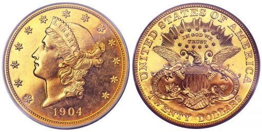 1904 proof double eagle