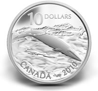 2010 $10 Blue Whale Silver Coin and Stamp Set