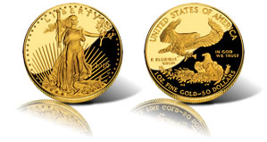 2010 Gold Eagle Proof Coin