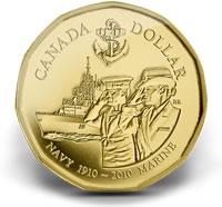 2010 Navy Centennial $1 Coin and Stamp Set