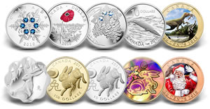 2010 Royal Canadian Mint Collector Coins