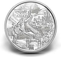 2010 Silver Banff National Park Coin