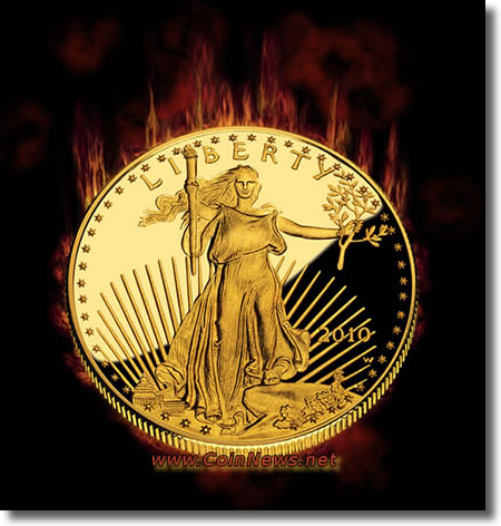 2010-W Proof American Gold Eagle Coin