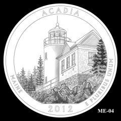 Acadia National Park Quarter Design Candidate ME-04