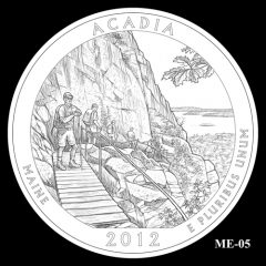 Acadia National Park Quarter Design Candidate ME-05