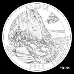 Acadia National Park Quarter Design Candidate ME-05