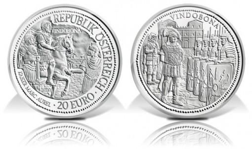 Austria 2010 Rome On The Danube Vindobona Silver Coin
