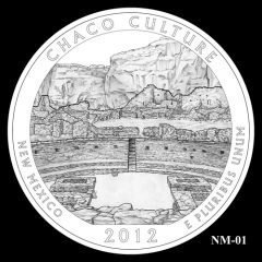 Chaco Culture National Historical Park Quarter Design Candidate NM-01