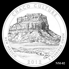 Chaco Culture National Historical Park Quarter Design Candidate NM-02