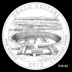 Chaco Culture National Historical Park Quarter Design Candidate NM-03