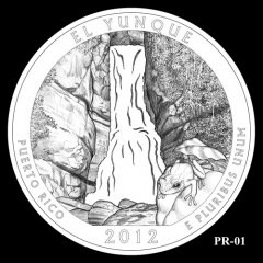 El Yunque National Forest Quarter Design Candidate PR-01