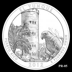 El Yunque National Forest Quarter Design Candidate PR-05