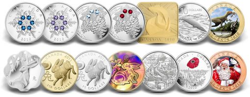 Final 2010 Royal Canadian Mint Collector Coins