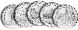 New 2010 America the Beautiful Quarters