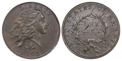 1793 Wreath cent