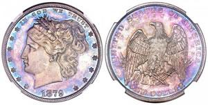 1879 $1 Washlady Dollar