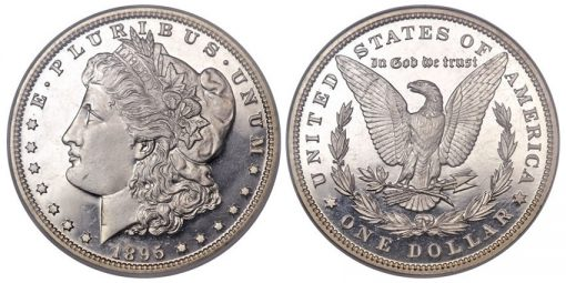 1895 Morgan dollar