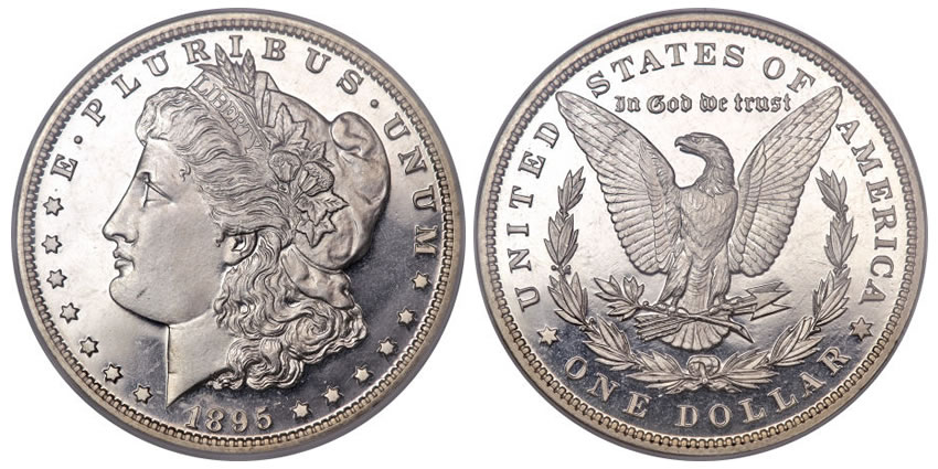 1895 Morgan Headlines Heritage S Last 2010 U S Coin