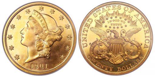 1901 double eagle