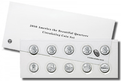 2010 America the Beautiful Quarters Circulating Coin Set