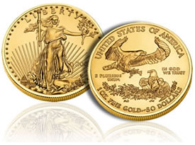 2010 American Gold Eagle bullion