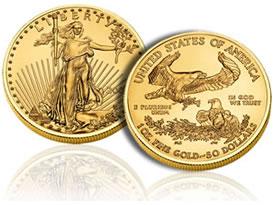 2010 American Gold Eagle bullion