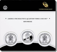 2010 Hot Springs Three-Coin Set