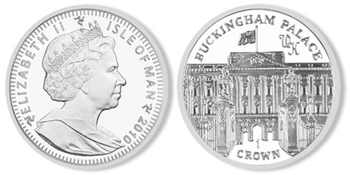 2010 Prince William Engagement Coin - Isle of Man