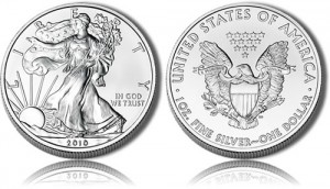 2010 Silver Eagle Bullion Coin