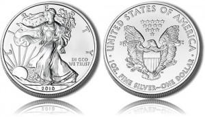 2010 Silver Eagle Bullion Coin