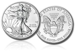 2010 Silver Eagle Coin