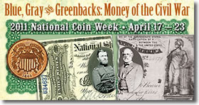 2011 National Coin Week Banner