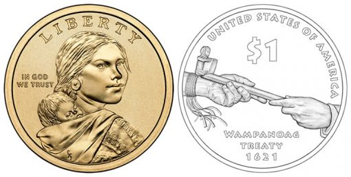 2011 Native American Dollar Coin Design