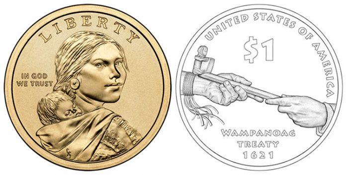 2011 Native American Dollar Coin Design