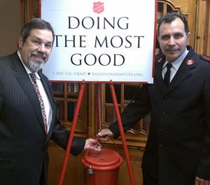 Mike Fuljenz and Major Floiran Estrada